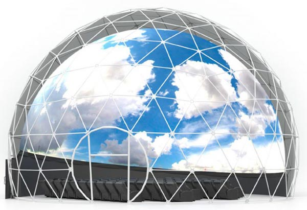 50'/15m Geodesic Projection Dome