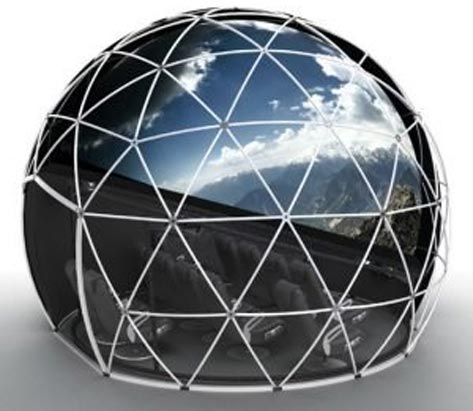 16'/5m Geodesic Projection Dome