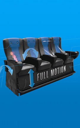 4D Effects & Motion Seating from OMNISPACE360
