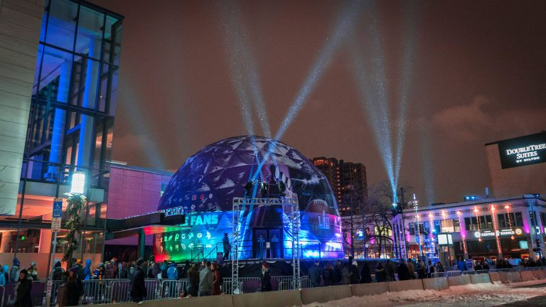 SuperBowl LII NFL 360 Dome Experience 002