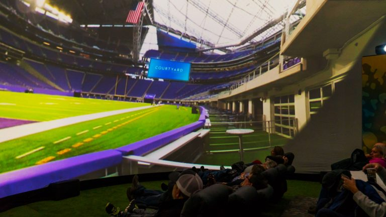SuperBowl LII NFL 360 Dome Experience 009