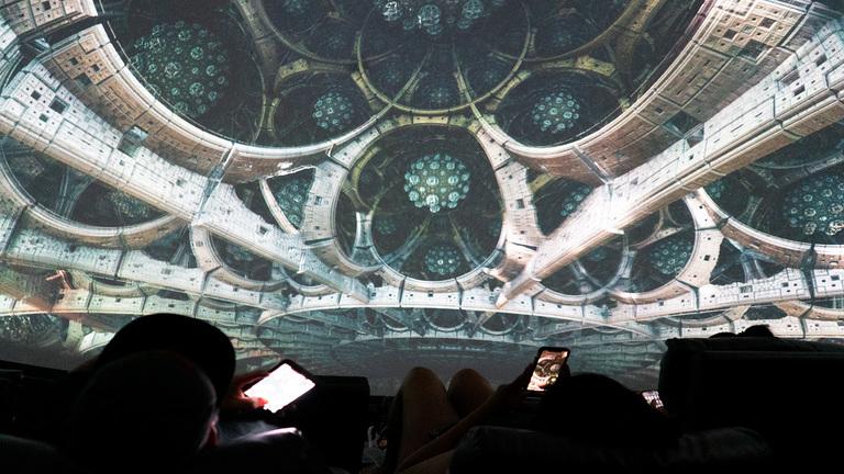 Fantasy Dome Fractal Universe Int