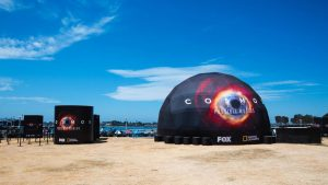 Cosmos Dome Comic-Con 10m 33ft Geodesic Projection Dome Omnispace360 007