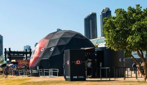 Cosmos Dome Comic-Con 10m 33ft Geodesic Projection Dome Omnispace360 002