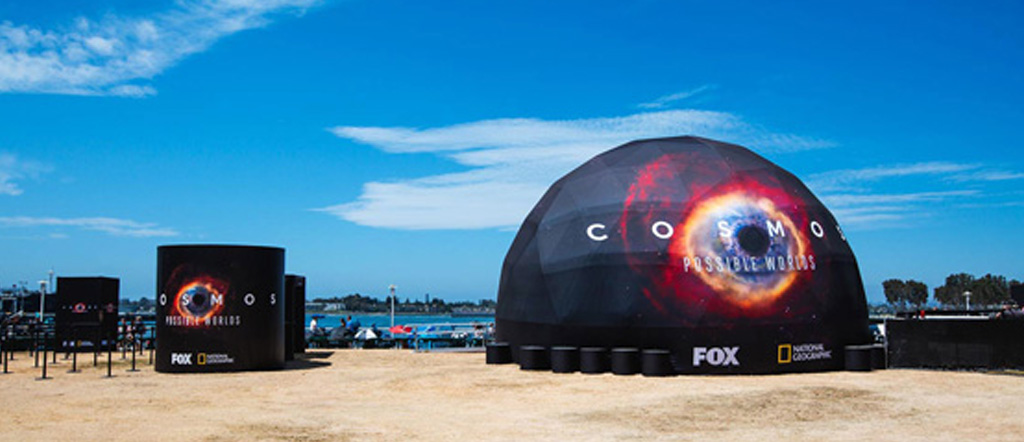 Cosmos Dome at San Diego Comic-Con