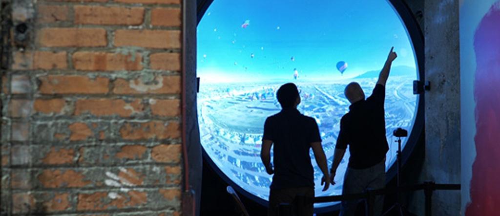 Immersive Hot Air Balloon Exhibit – Spark! Children's Museum