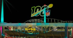 OMNISPACE360 NFL Projection Mapped Hologram Miami Super Bowl 2019 003