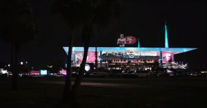 OMNISPACE360 NFL Projection Mapped Hologram Miami Super Bowl 2019 005