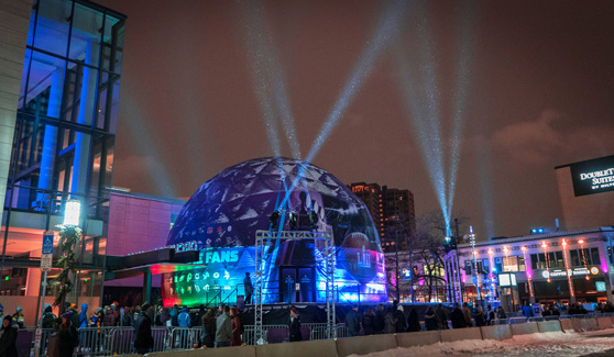 360 Dome Experience – Super Bowl LII