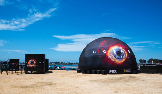 Cosmos Dome at San Diego Comic-Con
