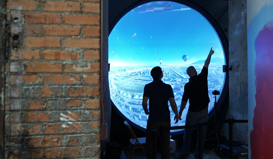 Immersive Hot Air Balloon Exhibit – Spark! Children's Museum