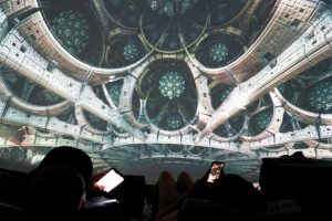 Fantasy Dome Powered by OMNISPACE360 Fractal Universe Show by Julius Horsthuis