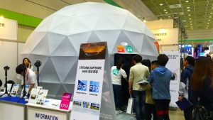 OMNISPACE360 8m Geodesic Projection Dome KOBA 2