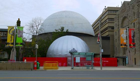 Nuit Blanche Toronto Immersive Art Dome